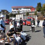 みんなで消防訓練に参加しました!